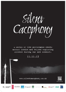 Silent Cacophony Poster THANET_low res