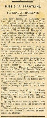 Ramsgate Newspaper Cutting, June 1942